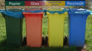 Mülltrennnung ist wichtig, damit das Recyclingpotential des Abfalls auch richtig genutzt werden kann.